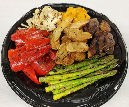 Grilled Vegetable Platter (Vegan)